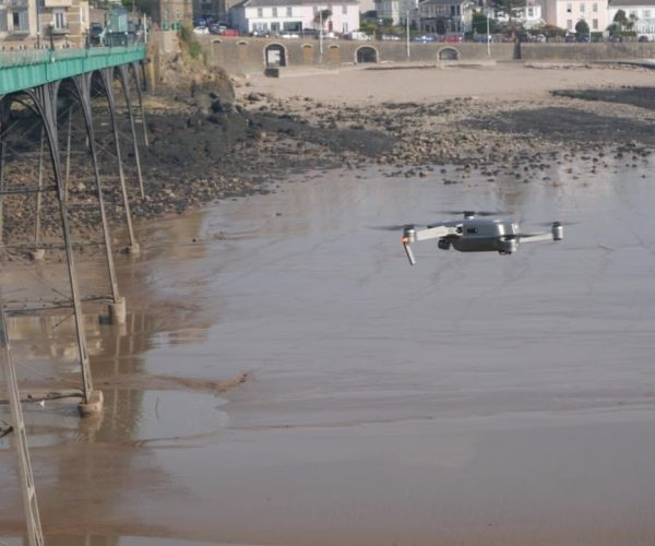 Drone survey of Clevedon Pier